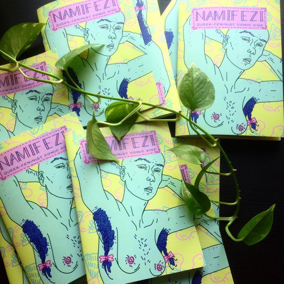 feministinen sarjakuva namifezi feminatsi apila pepita